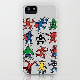 Keith Superheroes iPhone Case