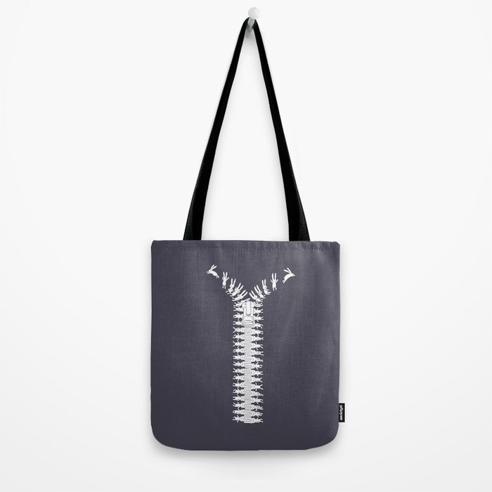 Unzip your imagination Tote Bag