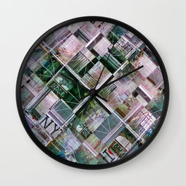 Tuesday 4 June 2013: Can you see if that line has crossed over you yet? Wall Clock