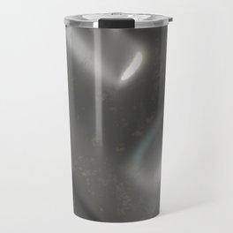 Dirty checkered steel plate Travel Mug