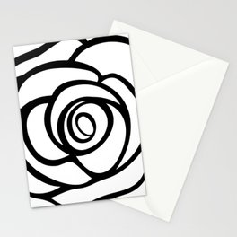 Rose Illustration by Marie-Laurence Monet Stationery Cards