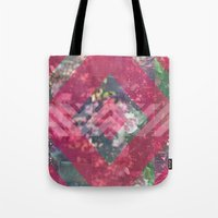 beth hoeckel Tote Bags featuring beth by littlehomesteadco