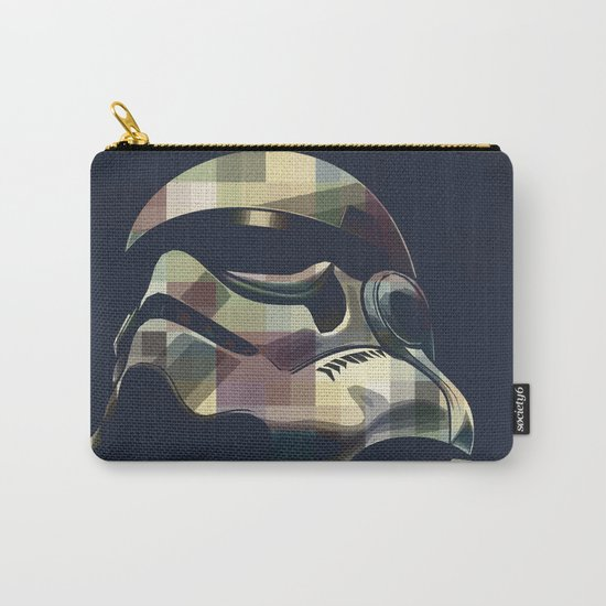 Star War | Storm Trooper Color Square * Movies Inspiration Carry-All Pouch