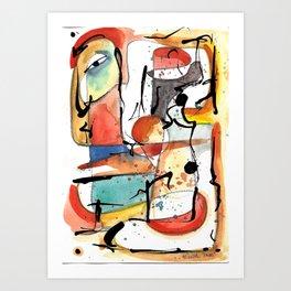 Genio Art Print