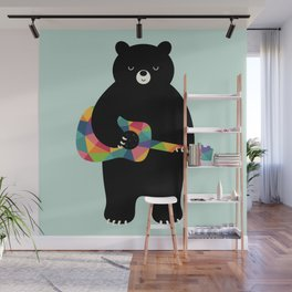 Happy Song Wall Mural