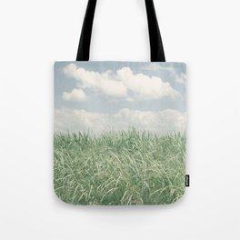 sugar cane field 2 Tote Bag