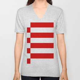 flag of bremen Unisex V-Neck