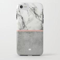 Marble Concrete fusion Tough Case iPhone 7