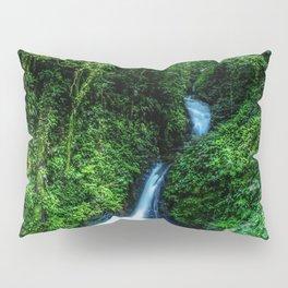 Jungle Waterfall Pillow Sham
