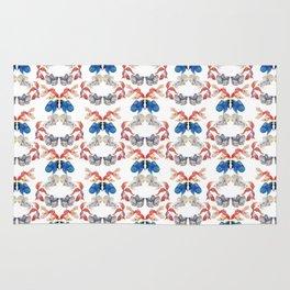 Fish Kaleidoscope Rug