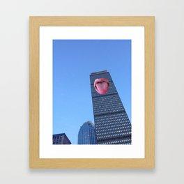 Taste of Boston Framed Art Print