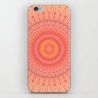 health iPhone & iPod Skins featuring Mandala mental health by Christine baessler