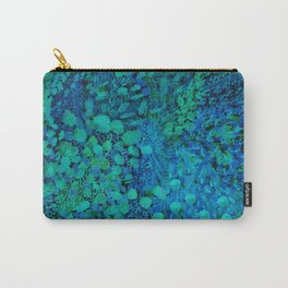 Peacock Watercolor Painting Carry-All Pouch