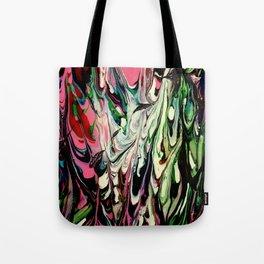 Psychedelic Flow Tote Bag