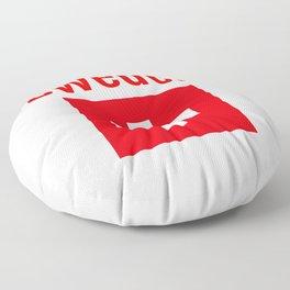 Sweden - Swiss Flag Floor Pillow