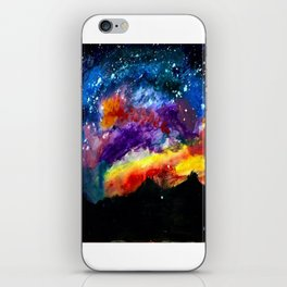 Majestic Night Sky iPhone Skin