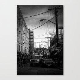 Kensington Congestion Canvas Print
