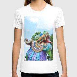 Chinese Dragon Ride T-shirt