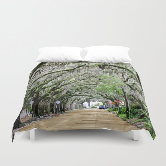 The Fountain of Youth 450th Year Celebration Duvet Cover