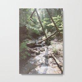 Waterfall in Munising, Michigan Upper Peninsula Metal Print