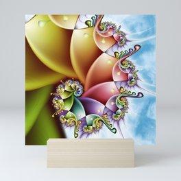 Rainbow Spiral Mini Art Print