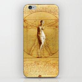 Vitruvio fitness iPhone Skin