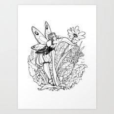 Soñadora Art Print