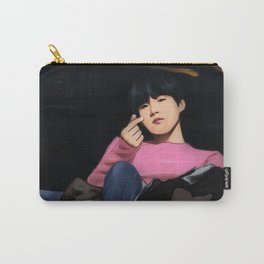 BTS SUGA SPRING DAY FANART Carry-All Pouch