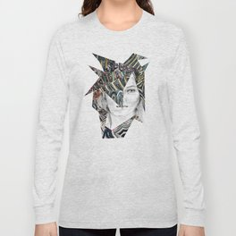Origami Girl Two Long Sleeve T-shirt