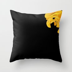 Datadoodle Gold Throw Pillow