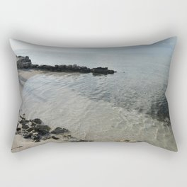 Your own private beach...  Rectangular Pillow
