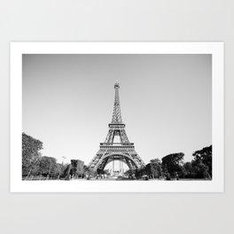 Eiffel Tower, Paris, France Art Print