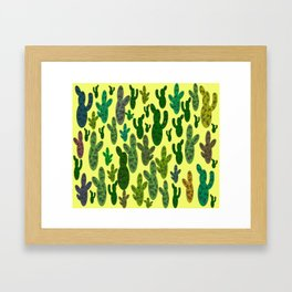 Prickly but adorable Framed Art Print