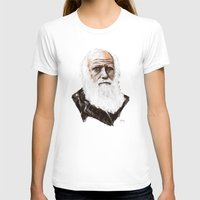 darwin T-shirts featuring Darwin - great man by graphicbrain