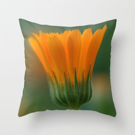 Marigold flower 6 Throw Pillow