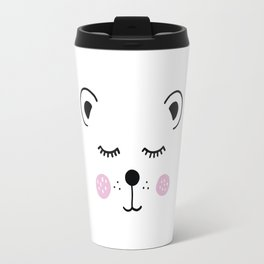 Cute bear illustration Travel Mug