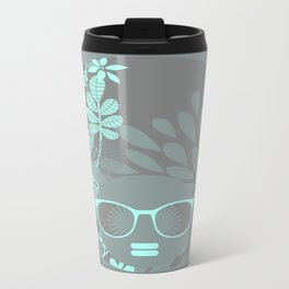 Afro Diva : Aqua Sophisticated Lady Travel Mug