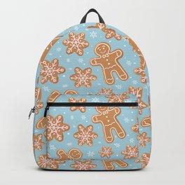 Winter Gingerbread Cookies Backpack