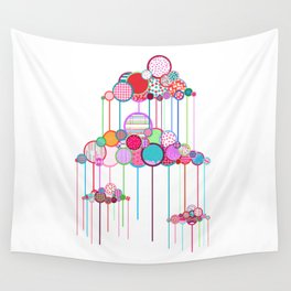 Rain Game Wall Tapestry