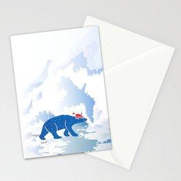 Polarbear in Love Stationery Cards