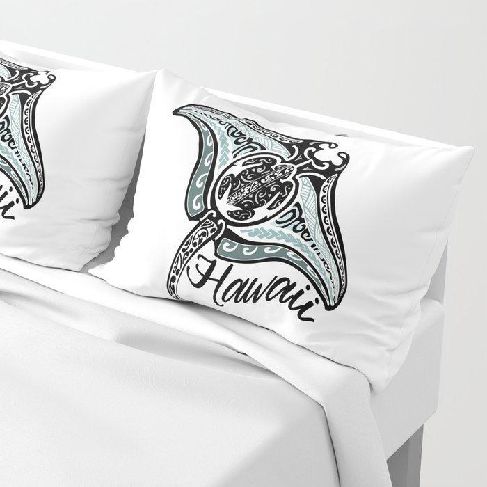 Hawaiian Tribal Ray Pillow Sham