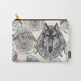 Wolf in Sheep's Clothing Carry-All Pouch
