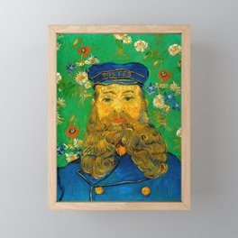 "Vincent van Gogh ""Portrait of Joseph Roulin"" Framed Mini Art Print"