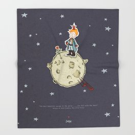 Little Prince Throw Blanket