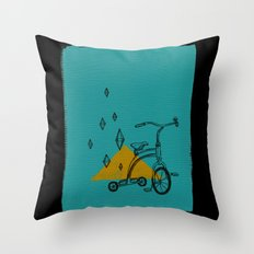 confidant I. (tricycle) Throw Pillow
