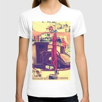 boat T-shirts featuring boat by gzm_guvenc
