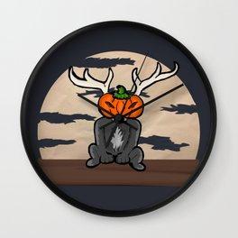 Jack-o-lope-tern Wall Clock
