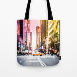 Big Apple Dream in the New York City Downtown Manhattan Tote Bag