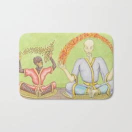 The Monkey King with Bodhi Bath Mat
