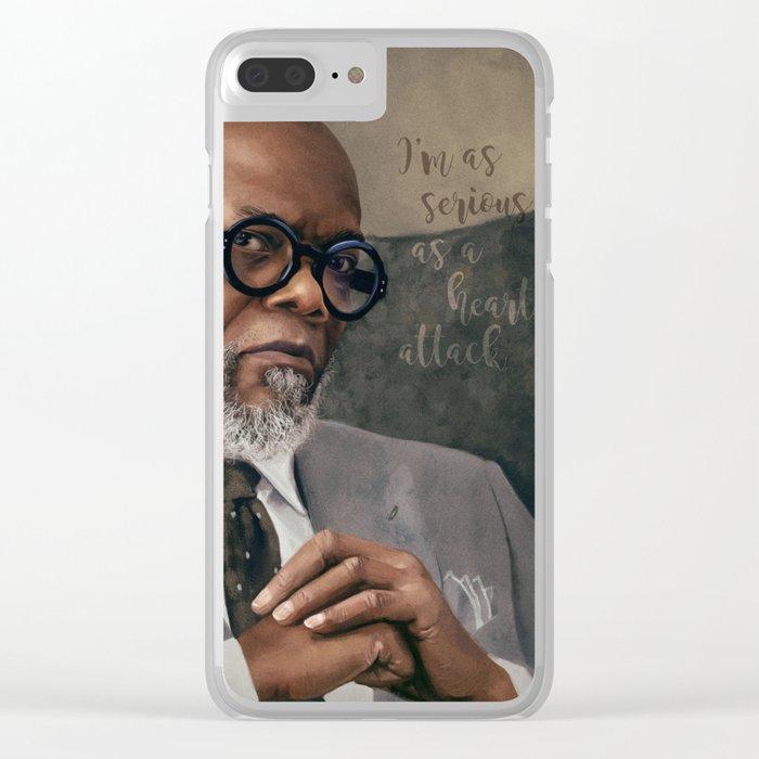 Samuel L. Jackson - Serious Clear iPhone Case